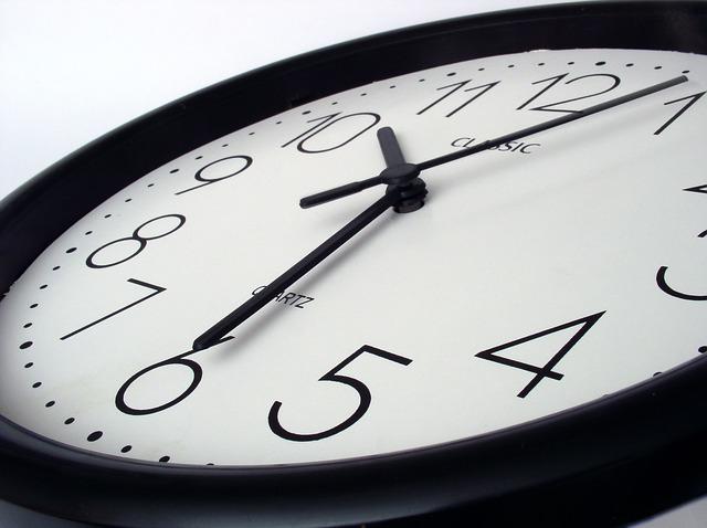 No time like the present.